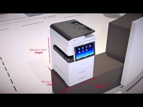 Ricoh MP 305+ SPF Product Intro Video