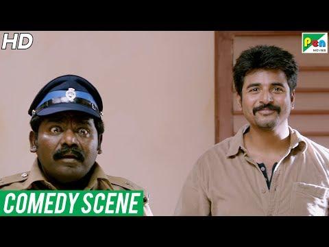 Daring Policewala (Kaaki Sattai) Comedy Scenes | New Hindi Dubbed Movie | Sivakarthikeyan, Sri Divy