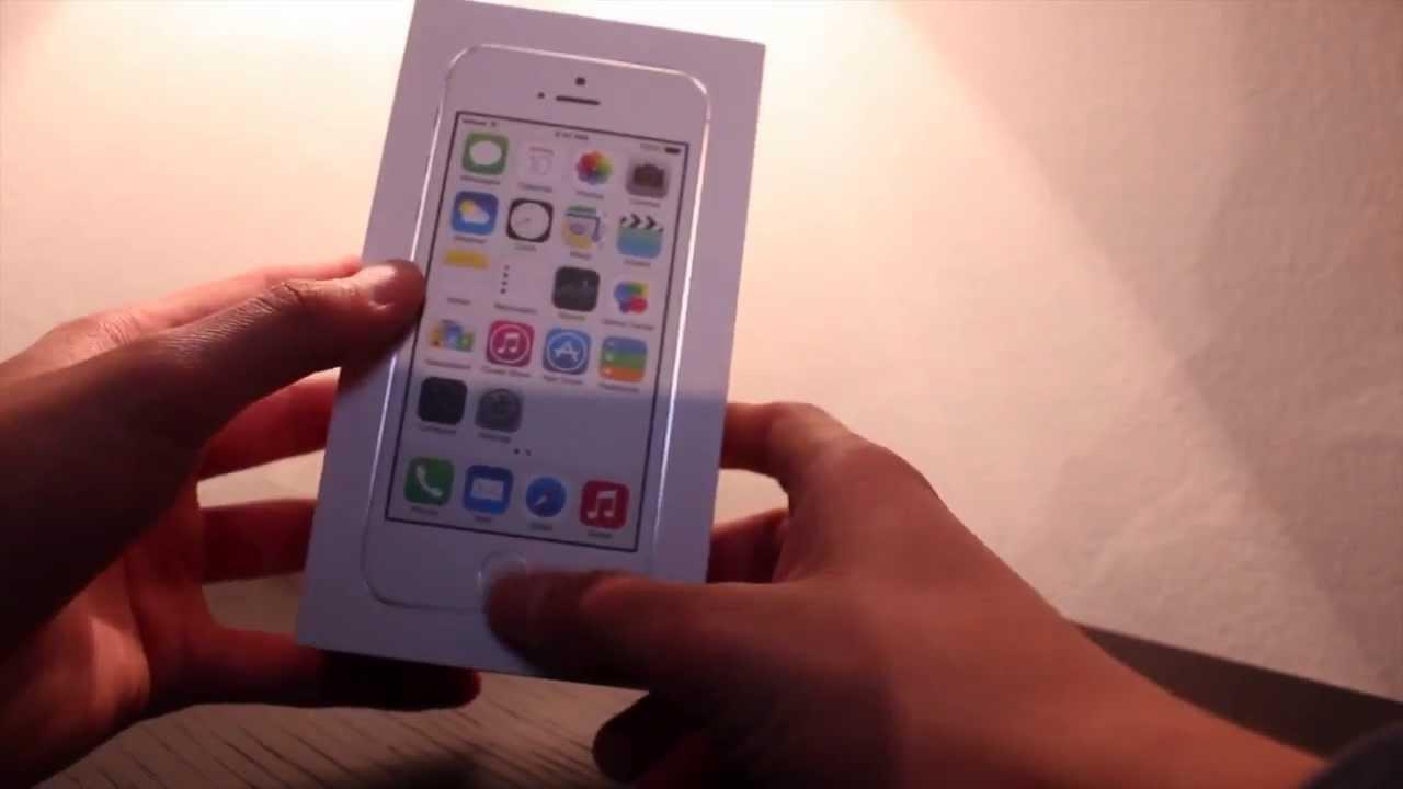 Unboxing del iPhone 5S -- El Mejor - YouTube