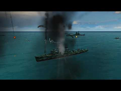 Battlestations Midway IJN Yamato Vs My U.S Fleet