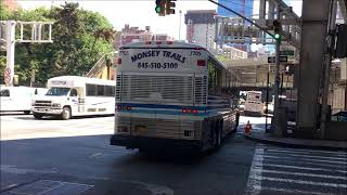 Bus Fanning NYC Port Authority Aug 2018