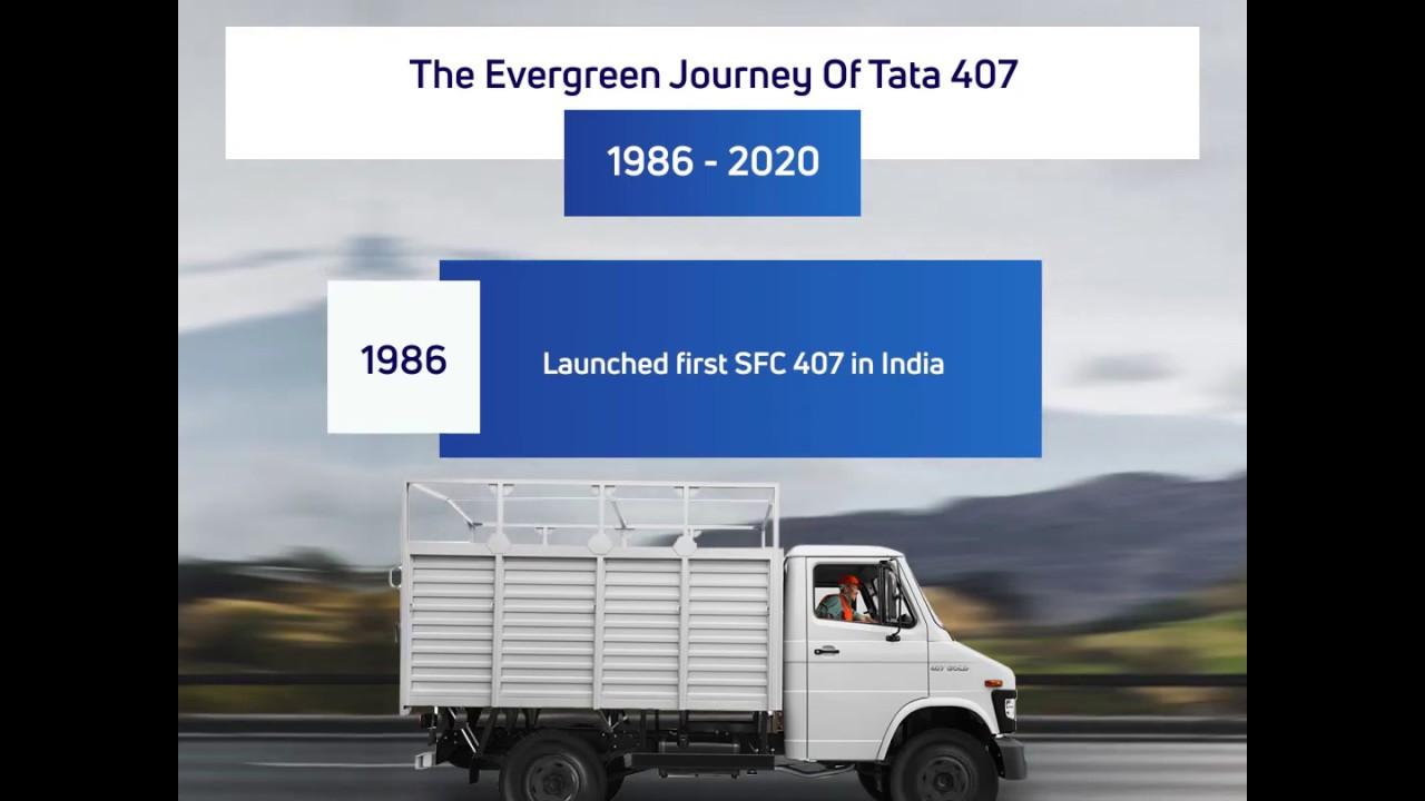 Evergreen Journey of Tata Motors ILCV 407