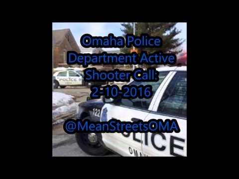 Omaha Active Shooter 2-10-2016 - Police Audio