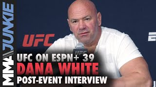 Dana White: Jan Blachowicz vs. Israel Adesanya confirmed, Anderson Silva needs to retire