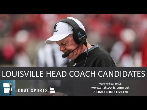 Top 10 Candidates To Replace Bobby Petrino As Next Louisville Football Head Coach In 2019