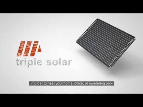 Triple Solar – All-in-one renewable energy system