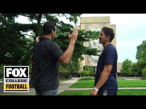 Brian Kelly, Ian Book and Brady Quinn discuss Notre Dame's schedule | FOX COLLEGE FOOTBALL
