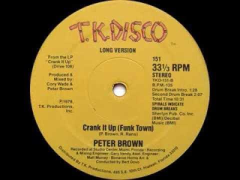 Peter Brown - Crank It Up (Long Version)