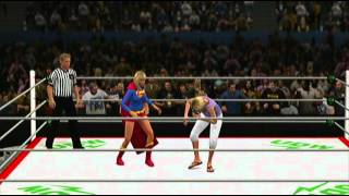 Android 18 vs. Supergirl, Extreme Rules (Request)