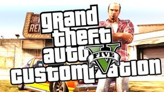 GTA V Gameplay: Car Customization In-Depth
