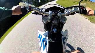 ON and OFF Road BMW G450X.wmv