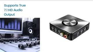 Diamond USB Xtreme Sound 24bit 7.1 Channel Digital Audio Adapter