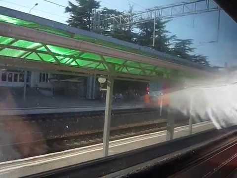 Поезд 284С Адлер-Москва Туапсе прибытие 23.07.2015