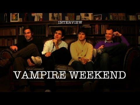 Vampire Weekend - Interview - YouTube