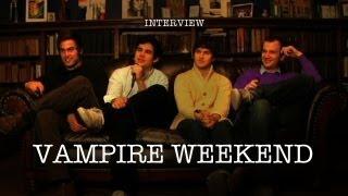 Vampire Weekend - Interview