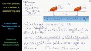Физика При прямолинейном равноускоренном движении за 5 с скорость тела увеличилась с 5 до 15 м/с