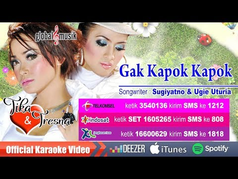 Tika & Tresna - Gak Kapok Kapok (Official Karaoke Video)