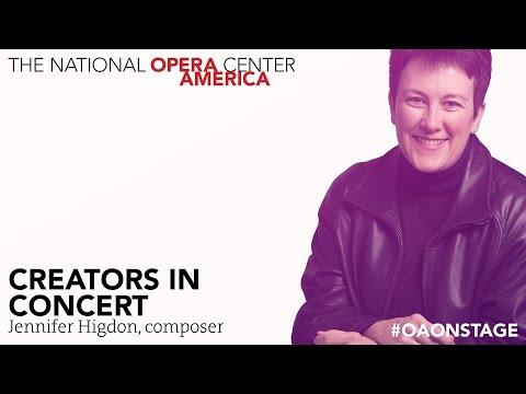 Creators in Concert: Jennifer Higdon