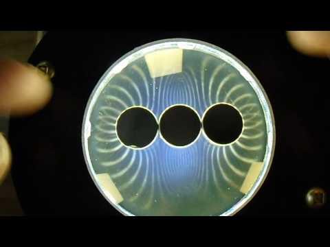 open a magnetic field