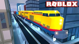Robbing the train l ROBLOX Jailbreak