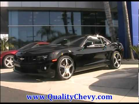 2011 Camaro with 21 inch wheels - YouTube