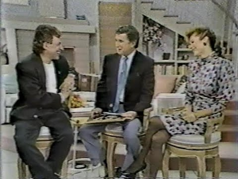 Frankie Valli Interviewed on Regis and Kathy Lee