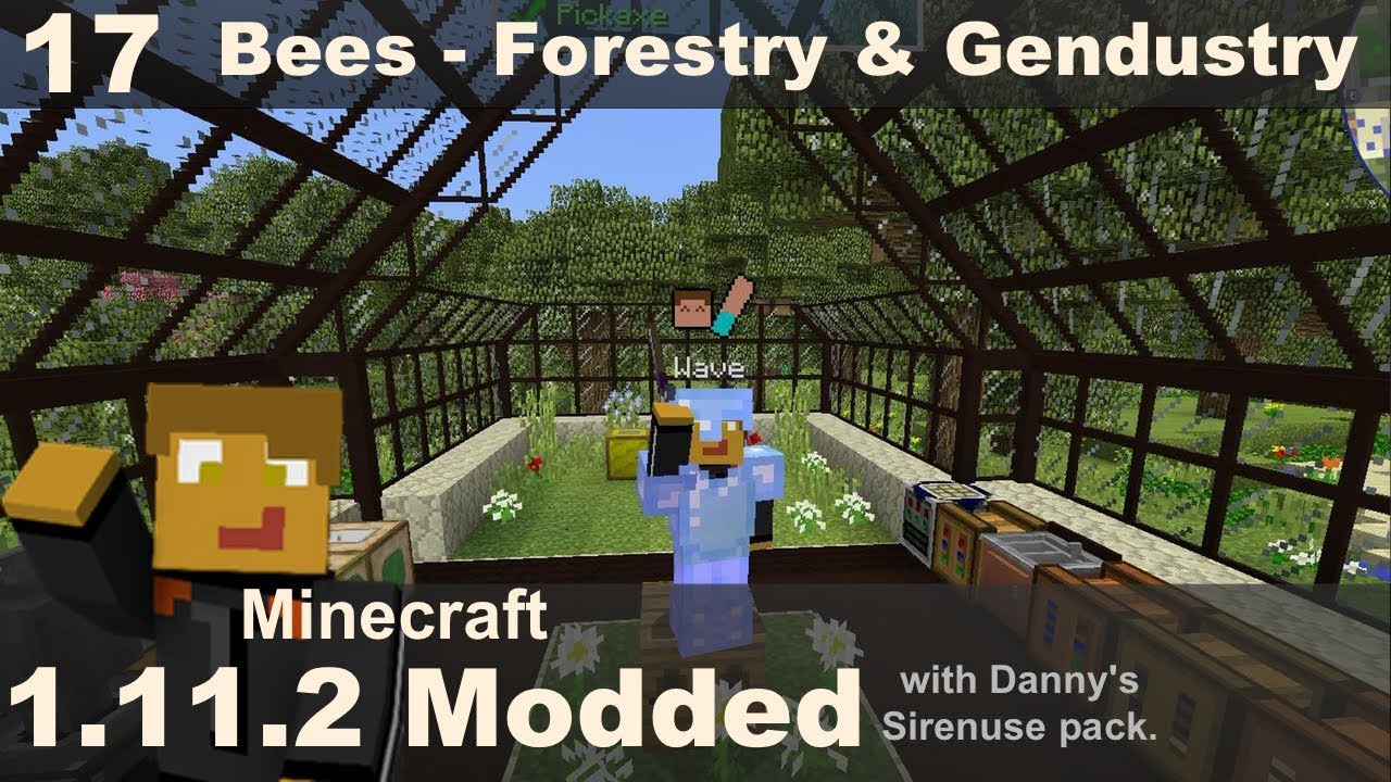 Modded 1 11 2 - Bees with Forestry, Gendustry and More Bees (E17)