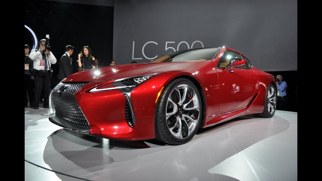 2018 Lexus LC500 Preview Video