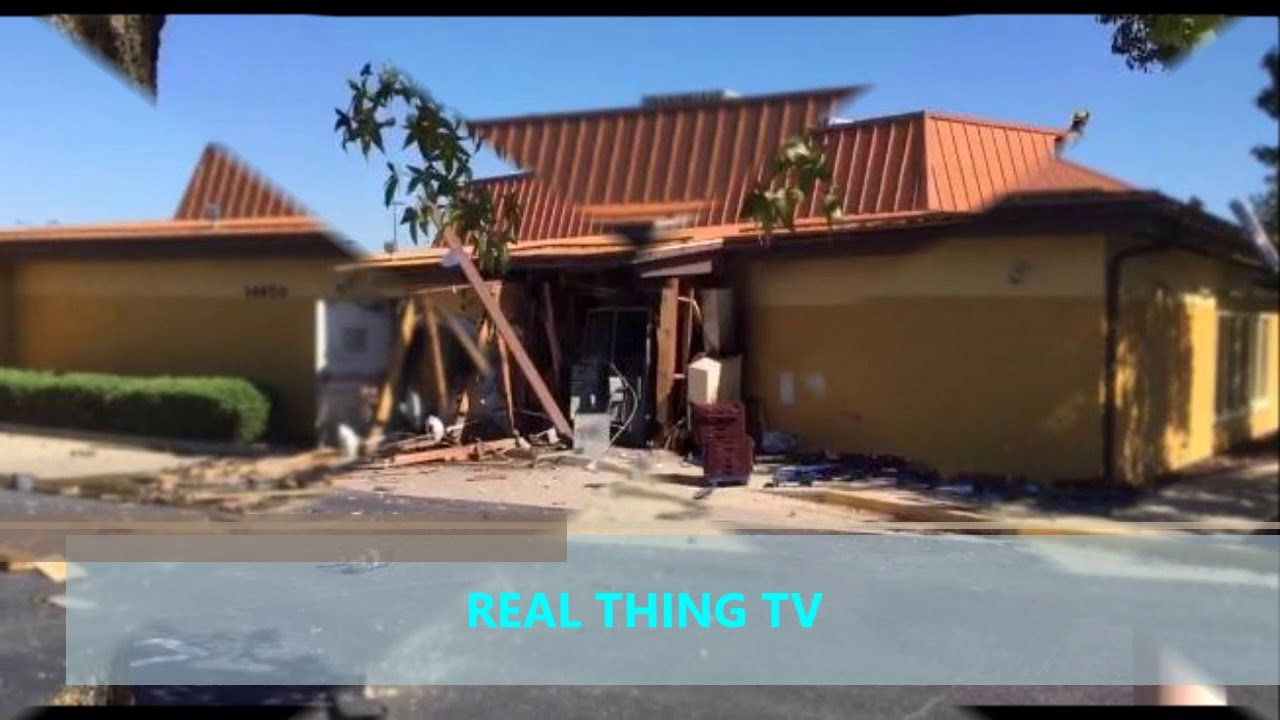 Huge hole blown through rear of Md Olive Garden after \'some type of ...