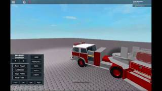 I have found the best tiller truck in roblox