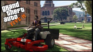 GTA 5 ROLEPLAY - LAWN CARE SERVICE BUSINESS (MOWER TIME!) - EP. 662 - CIV