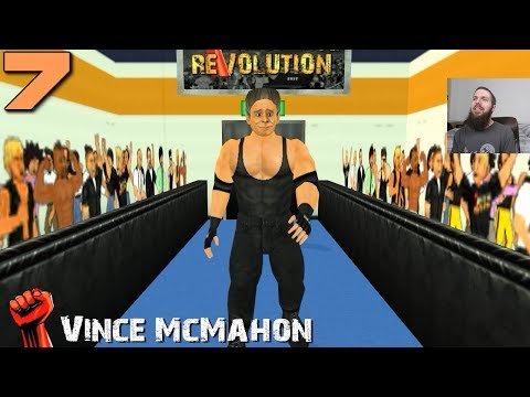 Wrestling Revolution 3D Career #7: GENETIC JACKHAMMER