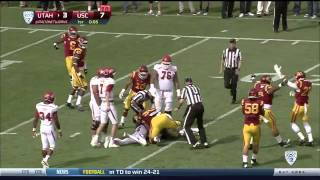 Utah vs USC 10-26-13 Highlights