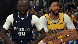 NBA 2K20 Tacko Fall My Career - Facing a 99 Overall Anthony Davis!
