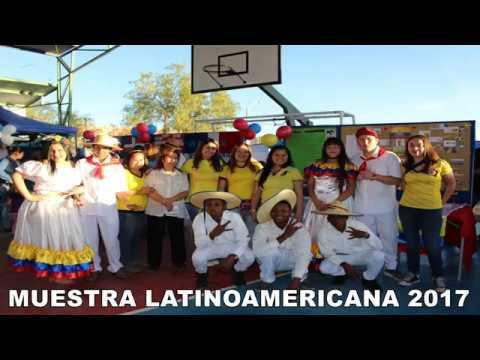 BAILE COLOMBIANO POR MUESTRA LATINOAMERICANA 2017 DEL LICEO RT CALAMA
