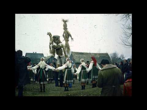 Oberek, archaic Polish folk music