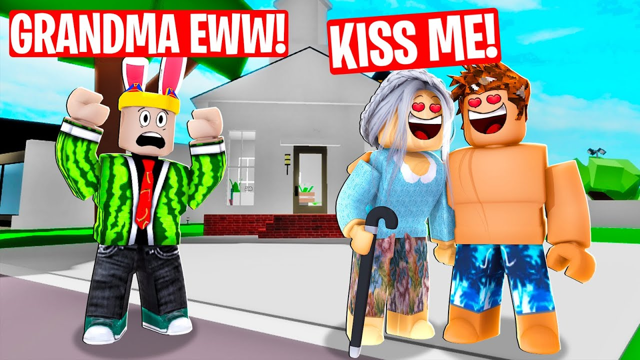 I CAUGHT a grandma ONLINE DATING in Roblox Brookhaven RP
