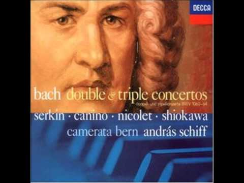 Bach: Concerto for Two Keyboards in C major, BWV 1061, Andras Schiff, Peter Serkin