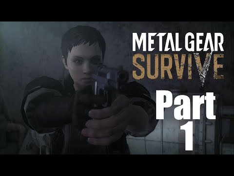 "Metal Gear Survive Walkthrough Gameplay Part 1 ""Welcome To Hell"""