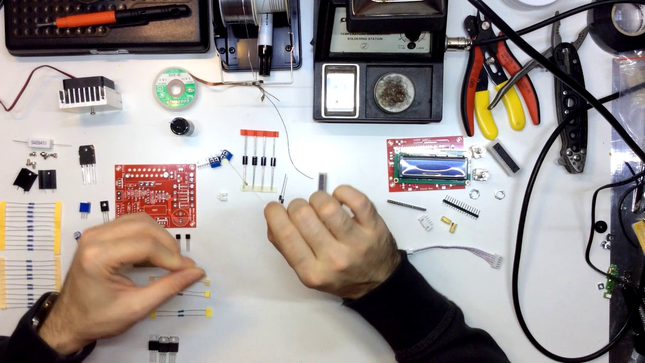 Hiland Regulated Power Supply Kit Build Pt 1 From Banggood Youtube Lm317 Circuit