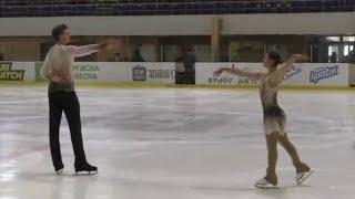 41 34 София Голиченко Артем Даренський Debut Ukrainian Figure Skating Cup SP 16 09 2020