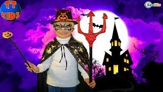 ХЭЛЛОУИН с Ярославой Выбираем костюм на Хеллоуин Готовимся к празднику Видео для детей