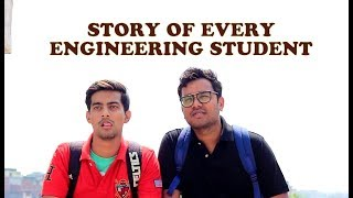 STORY OF EVERY ENGINEERING STUDENT (First Year v/s Last Year) | Aashqeen