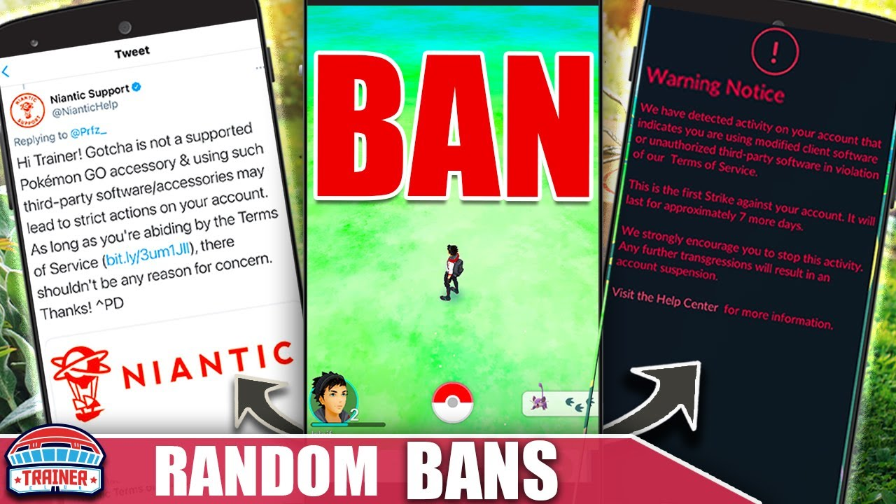 THIS CAN'T HAPPEN! NIANTIC *BAN ERRORS* WITH NO REASON - TOS   Pokémon GO