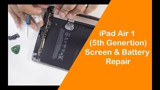 How Not To Fix iPad Air 1 (5th Generation) Screen & Battery Replacement
