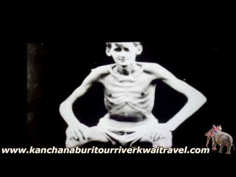 Hellfire Pass Movie at Memorial Museum Kanchanaburi Thailand