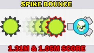 Arras.io - The Spike Bounce Returns: This is Not a Glitch (1.31M & 1.05M Scores)