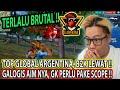 TERNYATA INI KEKUATAN TOP GLOBAL ARGENTINA YANG LAGI VIRAL - PEMAIN FF EMULATOR PALING GK LOGIS !!