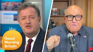 Piers and Rudy Giuliani Clash over Donald Trump's Tweets | Good Morning Britain