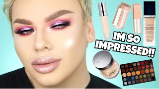 Full Face First Impressions! Trying NEW Makeup!